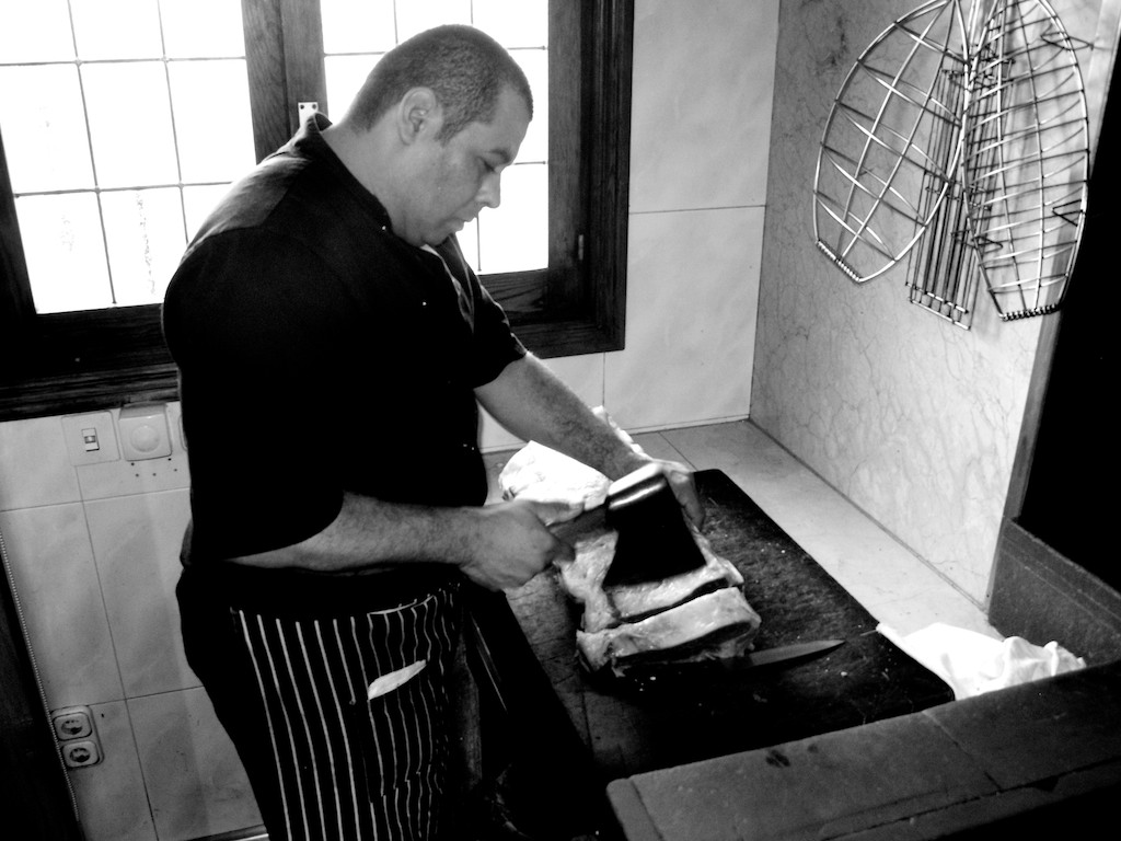 Rekondo Restaurant Butcher Dry Aged Ribeye San Sebastian Spain